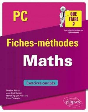 Maths PC - ellipses - 9782340033290