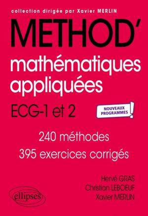 Mathématiques appliquées - Ellipses - 9782340048737 -
