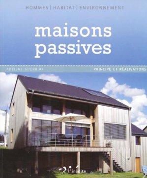 Maisons passives - l'inedite - 9782350321288 -