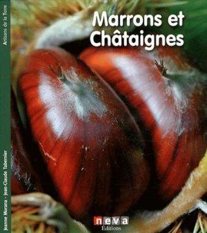 Marrons et châtaignes - neva  - 9782350551623 -