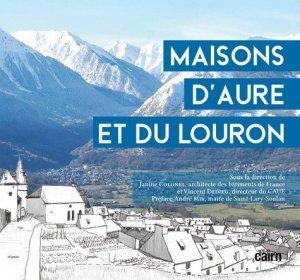 Maisons d'Aure et du Louron - cairn - 9782350689142 -