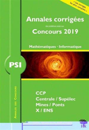 Mathématiques - Informatique PSI - handk - 9782351413654 -