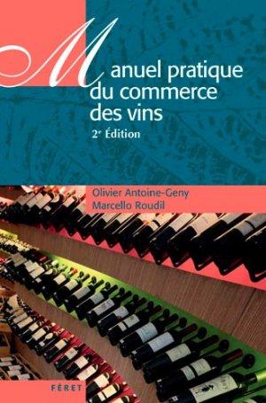 Manuel du commerce des vins - feret - 9782351561829 -