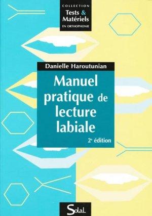 Manuel pratique de lecture labiale - solal - 9782353270323 -
