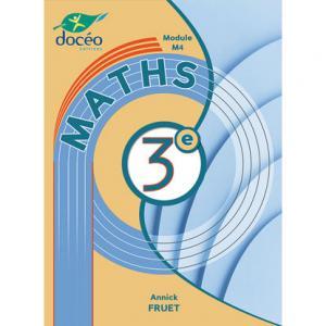 Mathématiques 3eme agricole manuel + exercices - doceo - 9782354971861 -