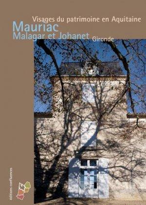 Mauriac, Malagar et Saint-Symphorien - confluences - 9782355271793 -