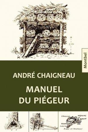 Manuel du piégeur - montbel - 9782356530967 -