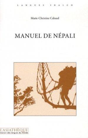 Manuel de Népali - asiathèque - 9782360570294 -