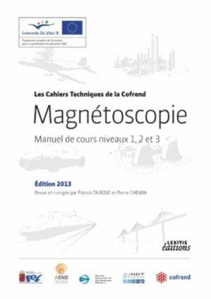 Magnétoscopie Manuel de cours niveaux 1, 2 et 3 - lexitis - 9782362331176 -