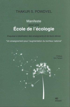 Manifeste pour une école de l'écologie - h diffusion - 9782363450975 -