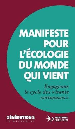 Manifeste pour l'écologie du monde qui vient - Les Petits Matins - 9782363832641 -