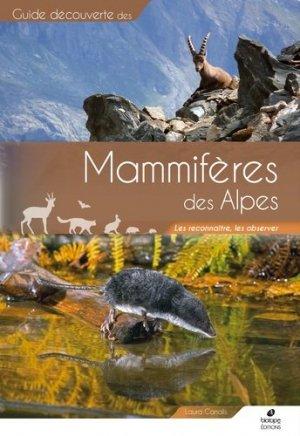Mammifères des Alpes - biotope - 9782366621808