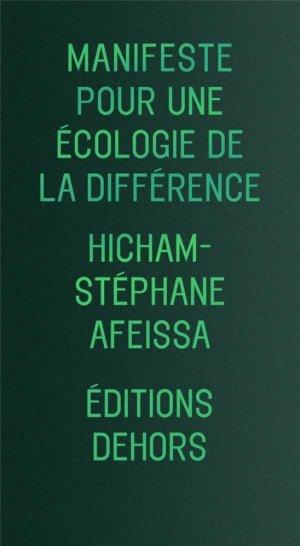 Manifeste pour une écologie de la différence - Dehors - 9782367510262 -