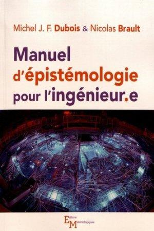Manuel d'épistémologie pour l'ingénieur.e - materiologiques - 9782373612769 -