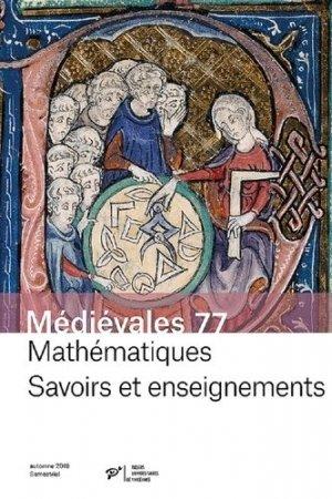 Mathématiques - Savoirs et enseignements - presses universitaires de vincennes - 9782379240614 -