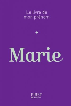 Marie - first editions - 9782412016787 -