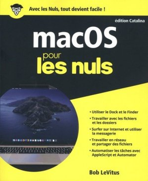 MacOS édition Catalina pour les nuls - First - 9782412050750 -