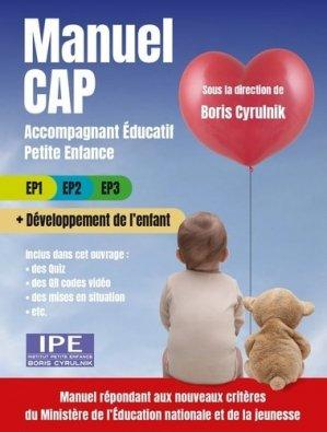 Manuel CAP Accompagnant éducatif petite enfance - Philippe Duval - 9782490737185 -