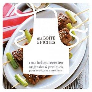 Ma boîte à fiches barbecue - Marabout - 9782501072410 -