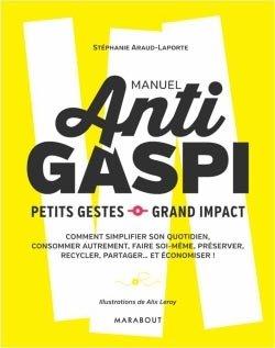 Manuel Anti gaspi - marabout - 9782501093682 -