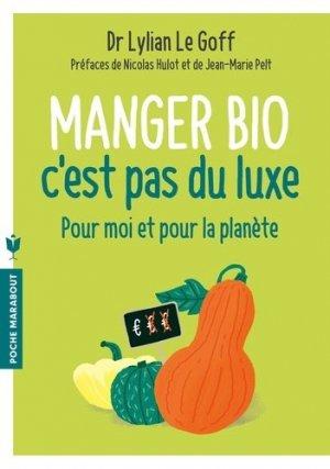 Manger bio c'est pas du luxe - marabout - 9782501111744 -