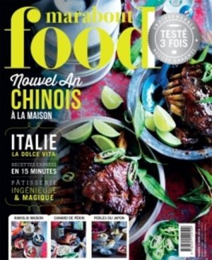 Marabout Food N° 4, hiver 2018 - Marabout - 9782501129190 -