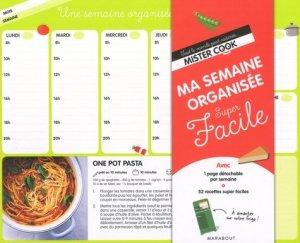 Ma semaine organisée super facile - Marabout - 9782501130943 -