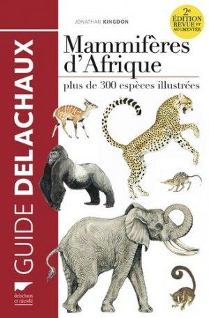 Mammifères d'Afrique / plus de 300 espèces illustrées - delachaux et niestle - 9782603025307 -