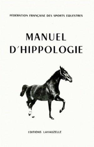Manuel d'hippologie - lavauzelle - 9782702503768 -