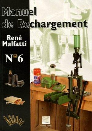 Manuel de rechargement n° 6 - crepin leblond - 9782703002352 - rechargment cartouche, rechargement balistique