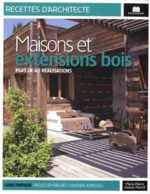 Maisons et extensions bois - massin - 9782707206923 -