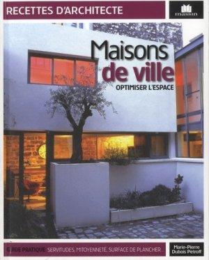Maisons de ville - massin - 9782707207500 - rechargment cartouche, rechargement balistique