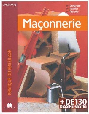 Maçonnerie - massin - 9782707207838 -