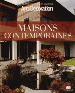 Maisons contemporaines - massin - 9782707208071 -