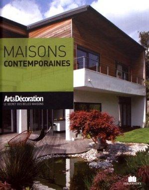 Maisons contemporaines - massin - 9782707210173 -