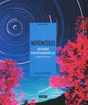 Mathématiques seconde professionnelle - vuibert - 9782711722235 -