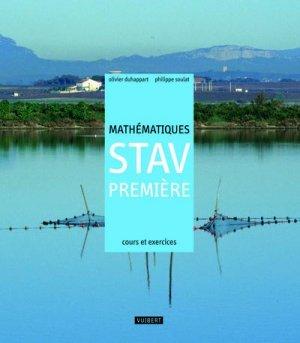 Mathématiques 1e STAV - Vuibert - 9782711740802 -