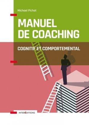 Manuel de coaching cognitif et comportemental - intereditions - 9782729619510 -