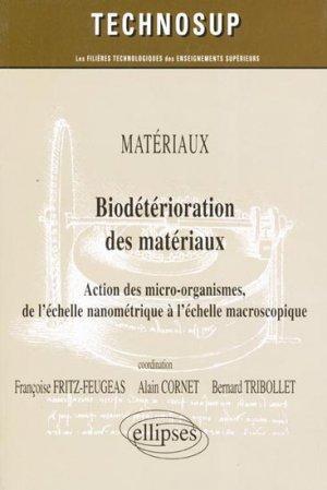Biodétérioration des matériaux - ellipses - 9782729839963 -
