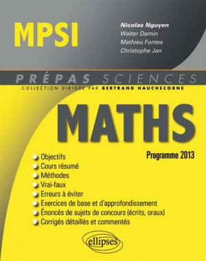 Maths MPSI - ellipses - 9782729881924