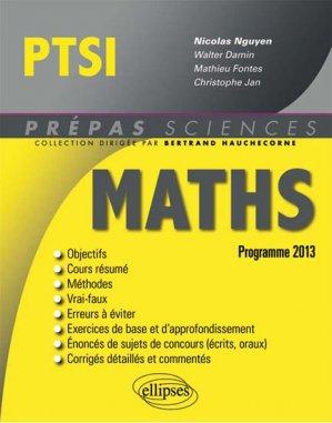 Maths PTSI - ellipses - 9782729881948 -