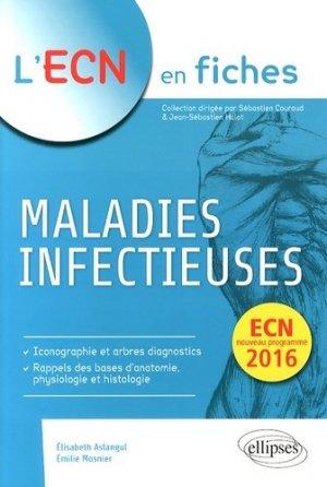 Maladies infectieuses - ellipses - 9782729884024 -