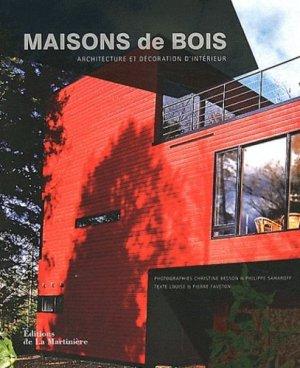 Maisons de bois - de la martiniere - 9782732450735 -