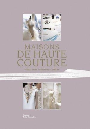 Maisons de haute couture - de la martiniere - 9782732470245 -