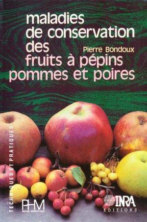 Maladies de conservation des fruits à pépins. - inra / phm - 9782738003577 -