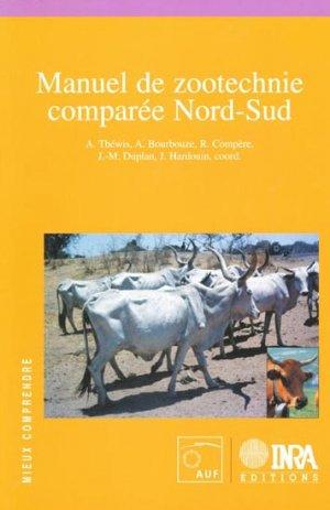 Manuel de zootechnie comparée Nord-Sud - inra / auf - 9782738010551