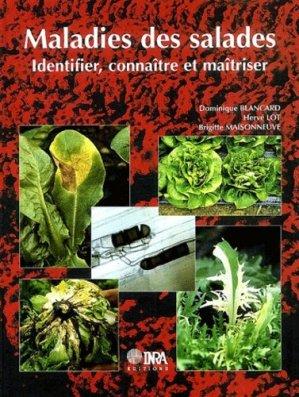 Maladies des salades - inra  - 9782738010575 -