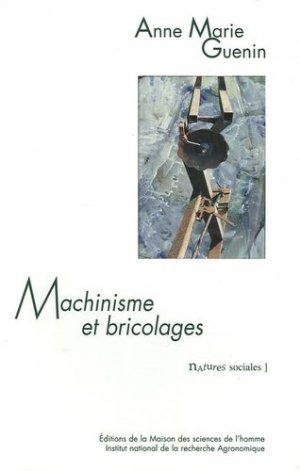 Machinisme et bricolages - inra / msh - 9782738010902 -