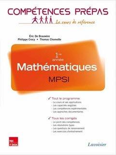 Mathématiques MPSI - lavoisier / tec et doc - 9782743015176 -