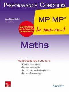 Maths MP MP* - lavoisier / tec et doc - 9782743015954